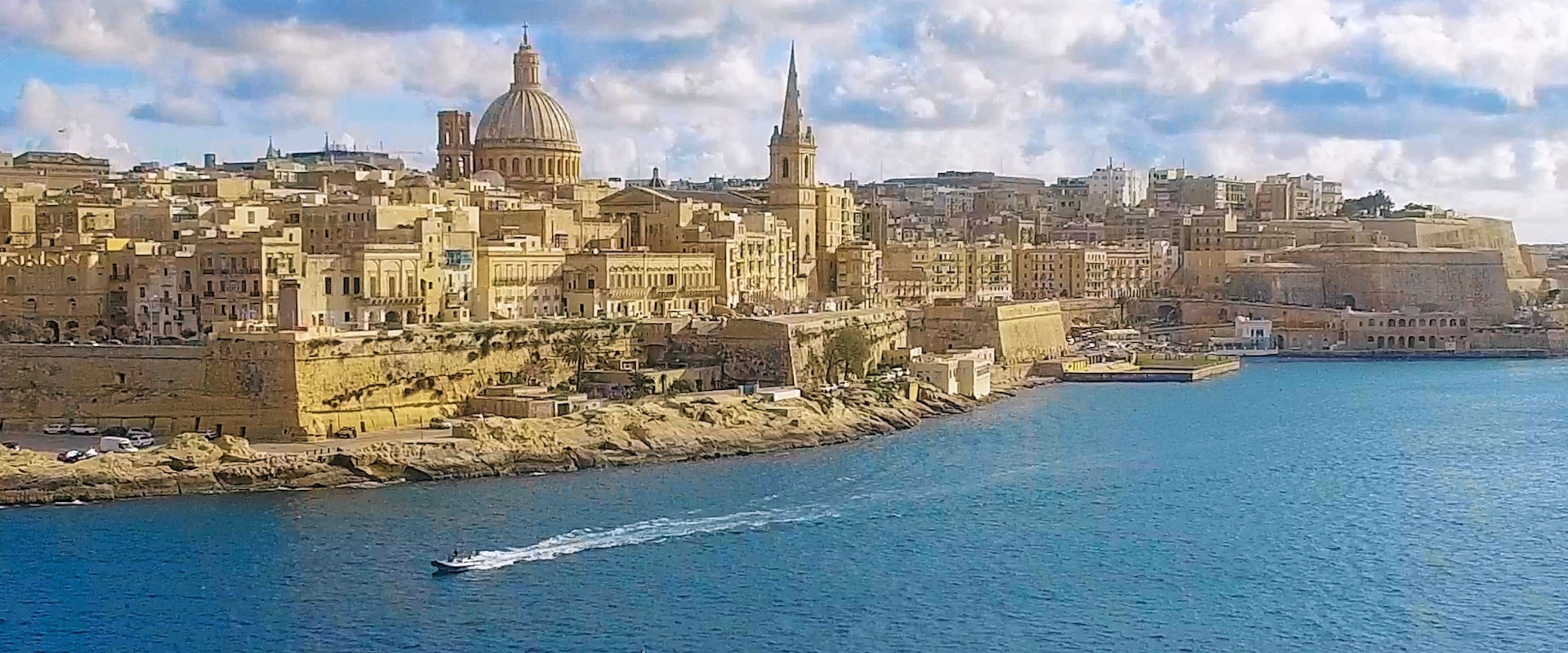 Valetta, Malta's capital - Aerial view