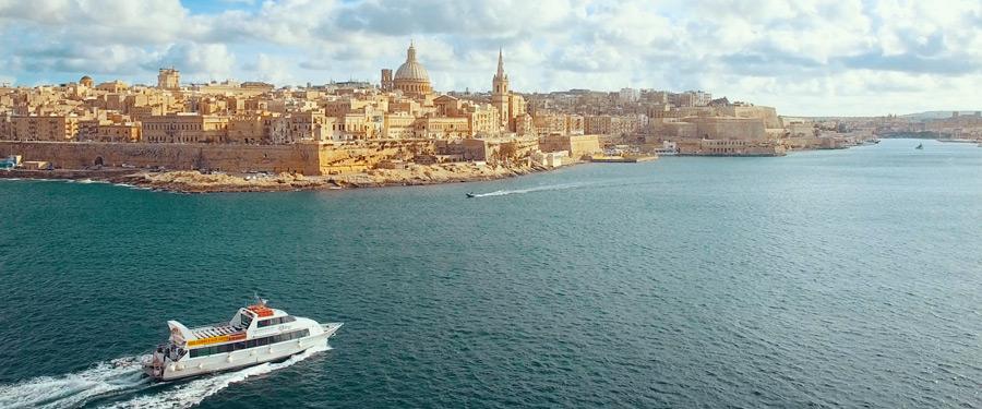 Filmare aeriana Velletta Malta