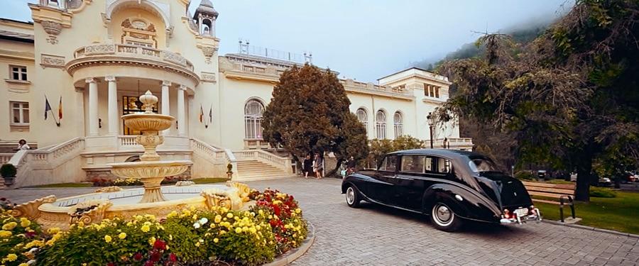 In ziua nuntii la Casino Sinaia