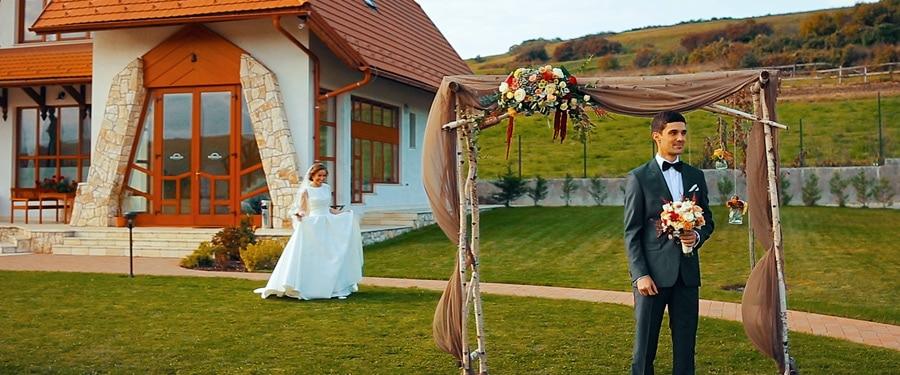 Nunta rustica Cluj - First look
