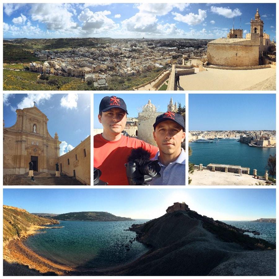 Filmare locatii superbe Malta si Gozo