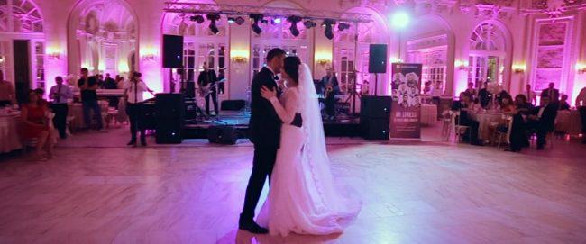 Filmare nunta Casino Sinaia - Primul dans