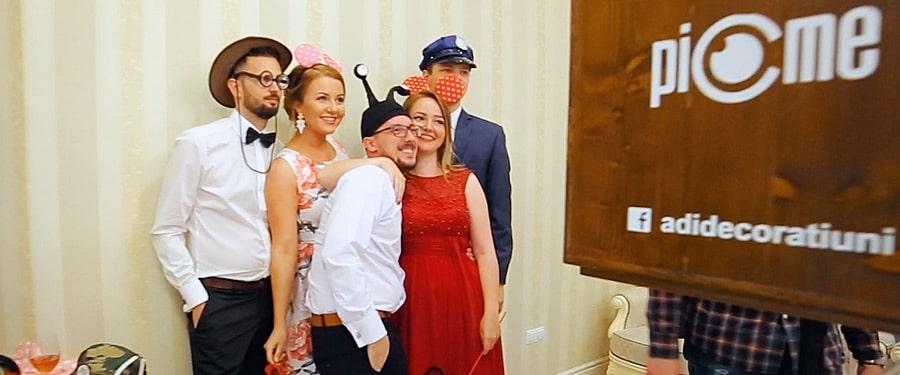 Picme cabina foto in ziua nuntii la Satu Mare