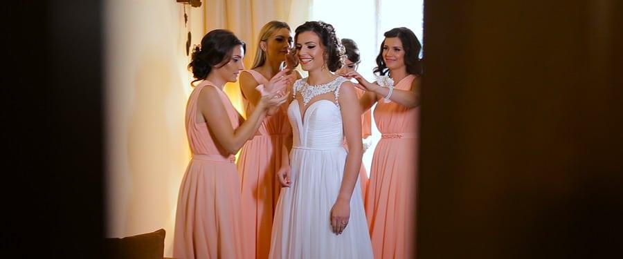 Pregatiri mireasa in ziua nuntii, Hotel Rusu - Petrosani