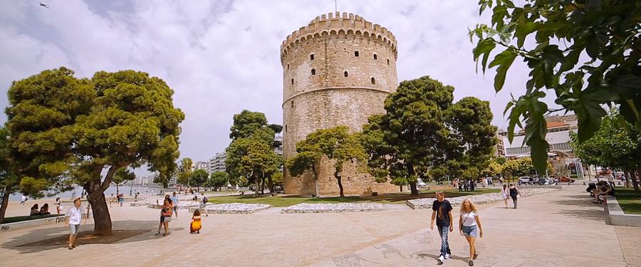 Salonic in ziua de nunta