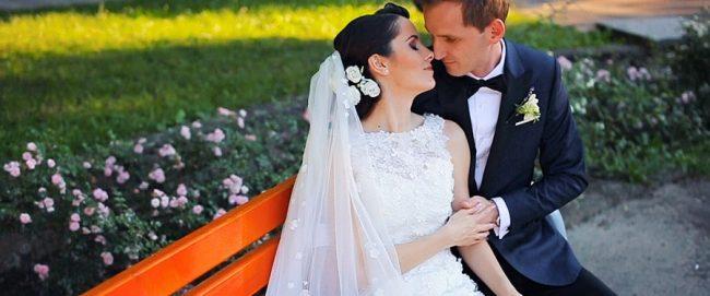 Sedinta video in ziua nuntii cu mirele si mireasa in Satu Mare